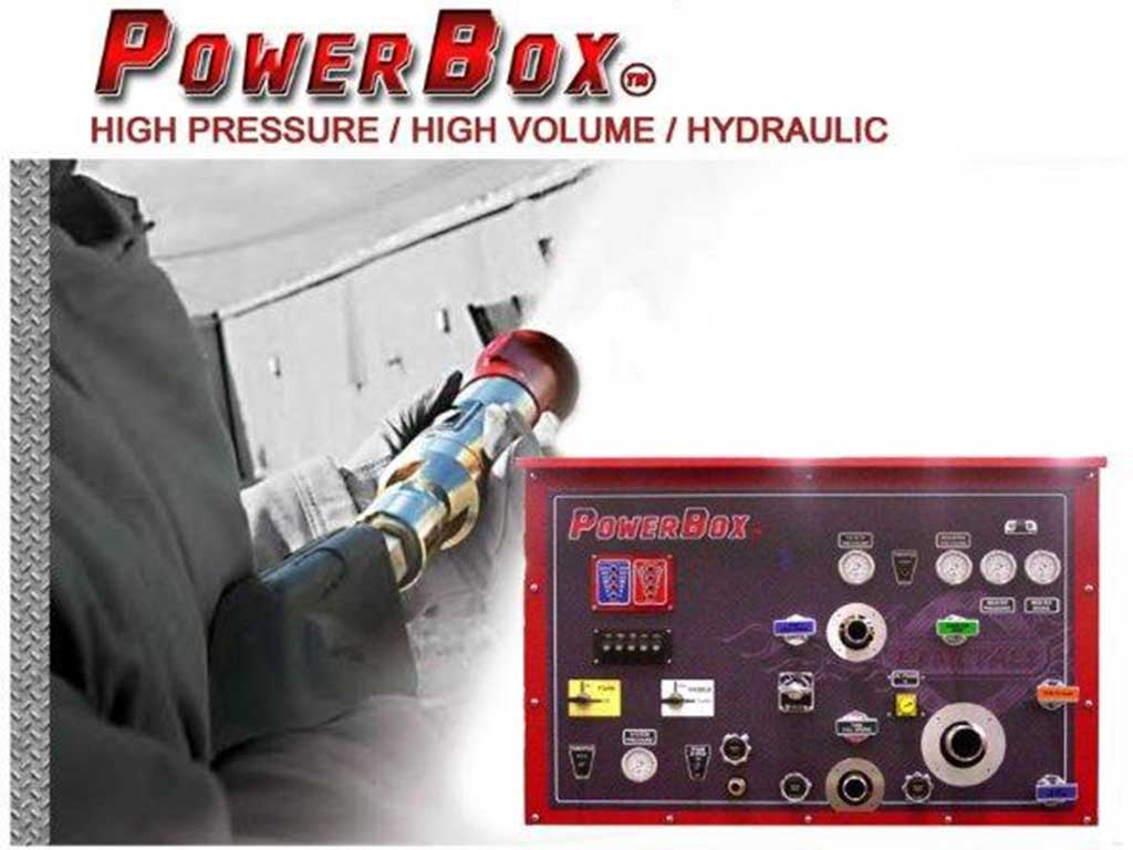 Power box High pressure fire fighting systems