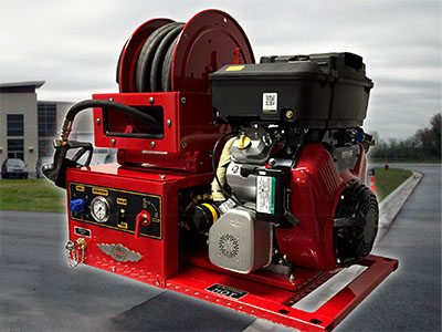 10GPM @ 1800 PSI ULTRA-HIGH PRESSURE COMPACT SKID UNIT