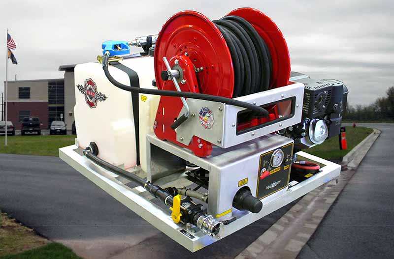 Ultra High Pressure Firefighting Systems | E J  Metals