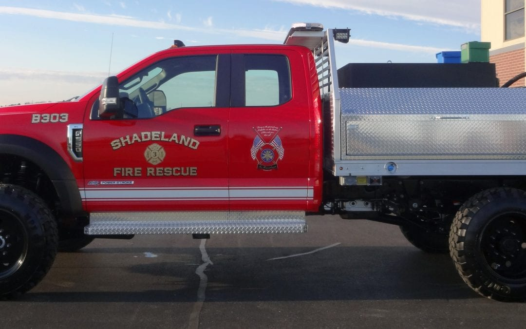 Shadeland Fire Department (Flatbed Brush Truck Unit)