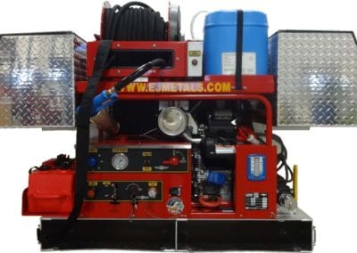 Ultra high pressure slide-in fire suppression system