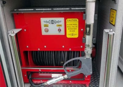Versatile options for ultra high pressure hose and reel